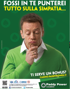 Campagna Paddy Power Siffredi