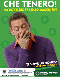 Locandina Paddy Power