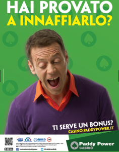 Paddy Power casinò Siffredi