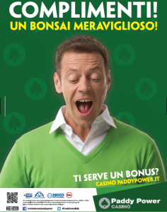 Paddy Power campagna Siffredi