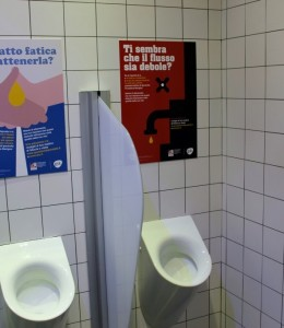 WC Campagna Il vespasiano amico