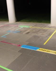 Circuito adesivi colorati