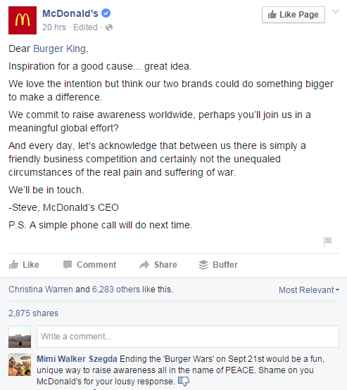 Burger King Mc Donald screenshot