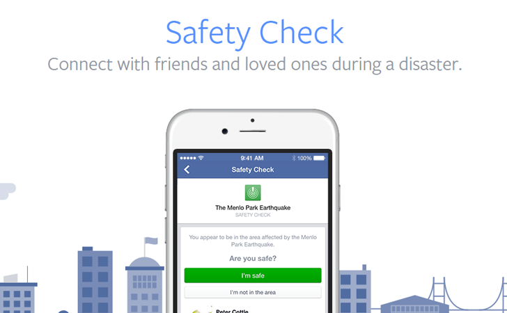 social facebook safety check