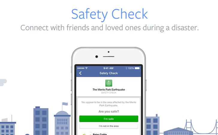 social facebook safety check