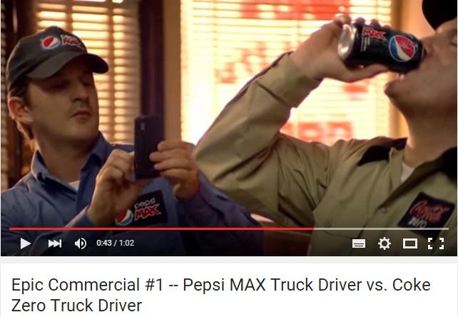 brand coke pepsi