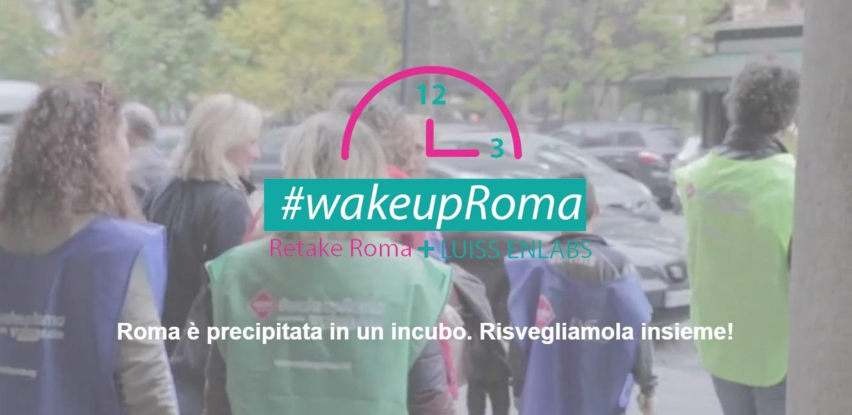 #wakeupRoma home storia