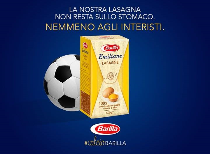barilla lasagna instant marketing